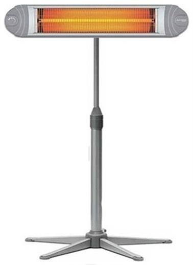 AWOX Awox Silver 2500 Infrared Isıtıcı Elektrikli Soba Isıtıcı Tamamı Metal Ayaklı Gri